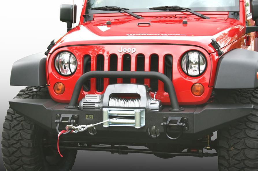 sto stange jeep wrangler jk mit seilwindenhalter fortec 4x4. Black Bedroom Furniture Sets. Home Design Ideas