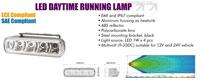 LED Tagfahrleuchten Aluminium, rechteckig 145mm br